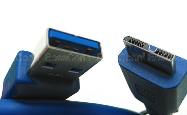 USB 3.0 Micro A Male to USB 3.0 Micro B Male Cable