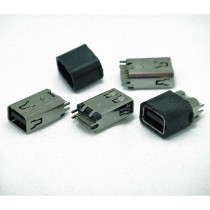 Mini DisplayPort Female Connector, Clamp Board Type