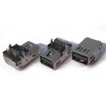 Mini DisplayPort Female Connector, SMT and DIP