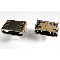 Mini HDMI Female Connector, SMT Type