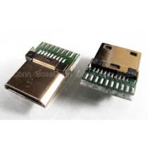 Mini HDMI Male Connector